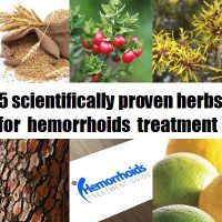 herbs for hemorrhoids treatment