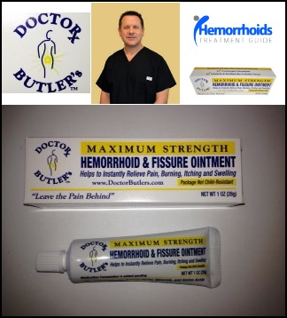 doctor butler's hemorrhoid and fissure ointment